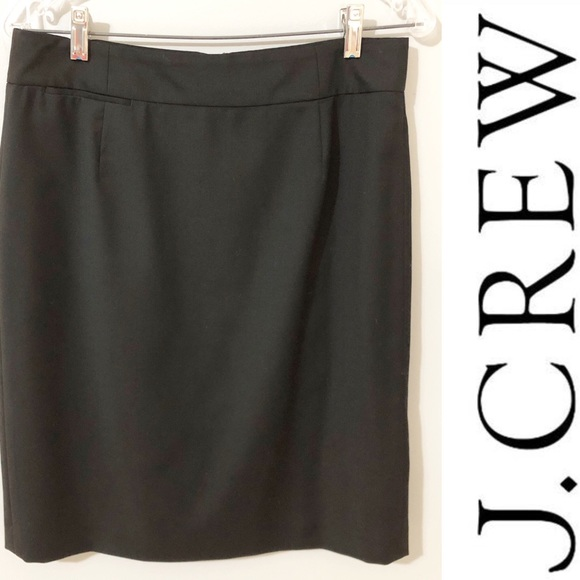 J. Crew Dresses & Skirts - LIKE NEW! J. Crew Blue Label Black Skirt